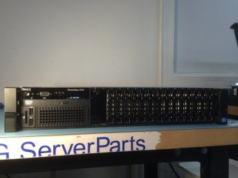 "Dell Poweredge R720 2x E5-2650 V2 16GB 16x2,5"" PERC H710 10GbE iDRAC7 2xPSU"