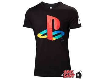 Playstation Classic Logo T-Shirt (Large)