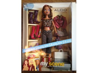 Barbie My Scene 2004 Mattel MADISON Shopping Spree på ALDO NRFB docka med kläder