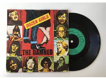 "The Damned ""Dozen Girls"" 1982 RARE"