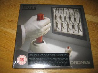 MUSE - Drones CD+DVD 2015 NY!