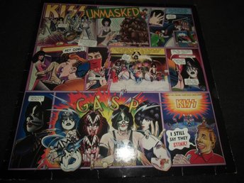 Kiss - Unmasked - LP - 1980