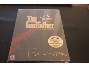 DVD-box: The Godfather - The Coppola Restoration (NY, INPLASTAD!)