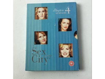 DVD VIDEO, DVD-Film, Sex and the city säsong 4