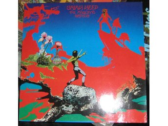 "Uriah Heep LP ""the maGICIANS BIRTHDAY"""