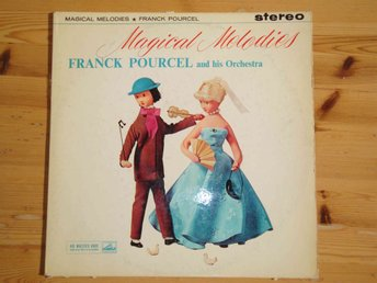 FRANCK POURCEL AND HIS ORCHESTRA - MAGICAL MELODIES LP 1959