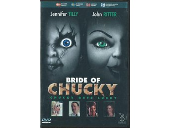 BRIDE OF CHUCKY - JENNIFER TILLY   ( SVENSKT TEXT )