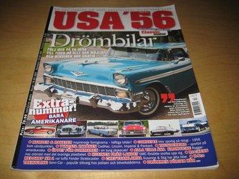 CLASSIC MOTOR ALBUM NR 14. USA 56. - Uppsala - CLASSIC MOTOR ALBUM NR 14. USA 56. - Uppsala