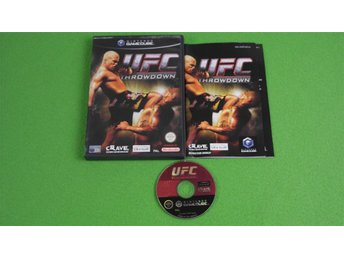 UFC Throwdown ENGELSK UTGÅVA KOMPLETT GameCube Game Cube