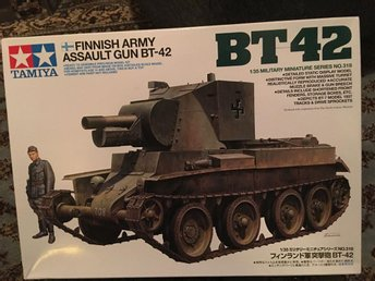Tamiya - BT-42 Finnish army assault gun  1:35