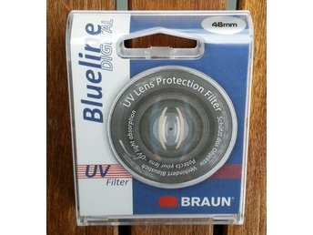 UV filter Braun Blueline 46mm