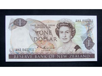 1 Dollar Banknote New Zealand 1981/92  Uncirculated