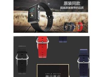 Fashion Style Apple watch band / Svart,Armband for iwatch 42mm ,Real Leather /NY - Shanghai - Fashion Style Apple watch band / Svart,Armband for iwatch 42mm ,Real Leather /NY - Shanghai