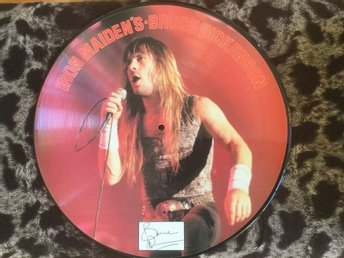 IRON MAIDEN - IRON MAIDEN'S BRUCE DICKENSON INTERVIEW PICTURE DISC 1986