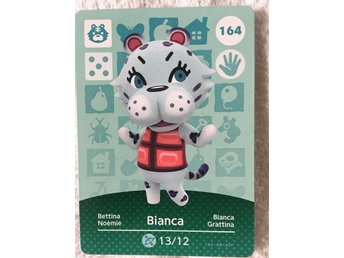 Animal Crossing amiibo kort Series 2 164 Bianca