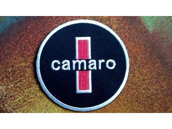 CHEVROLET CAMARO Mechanics Oil Garage Service Patch GM Detroit