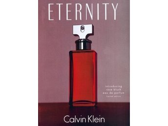 CALVIN KLEIN~ ETERNITY ROSE BLUSH EDP 50ML (ca 47ml kvar)