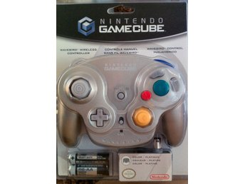 Joypad - Wavebird Wireless Nintendo - Platinum Version - Gamecube