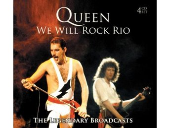 Queen: We will rock Rio (Broadcasts 1977-85) (4 CD)