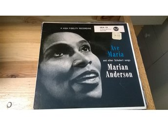 Marian Anderson - Ave Maria And Other Schubert Songs, EP