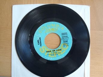 Carl Perkins High On Love rare USA promo 45
