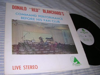 Donald 'Red' Blanchard's Command Performance (LP) humor USA