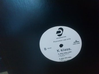 K-KLASS - SO RIGHT (MAXISINGEL PROMO)