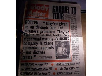 MELODY MAKER. MARCH 26, 1977 SEX PISTOLS