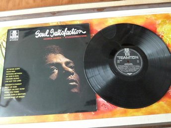 GEORGES HARRIS, SOUL SATISFACTION, LP, LP-SKIVA