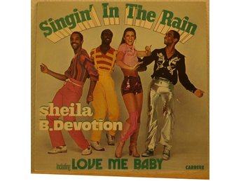 LP. SHEILA B. DEVOTION - SINGIN` IN THE RAIN. SWE.