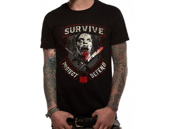 WALKING DEAD - SURVIVE T-shirt - Large