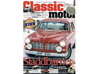 Classic motor nr 1 2009 med bl.a. Volvo Amazon