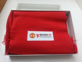 Manchester United VIP Experience Scarf.