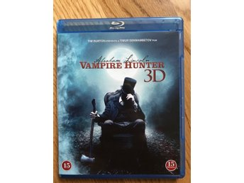 Abraham Lincoln: Vampire Hunter (3D blu-ray) Nyskick!