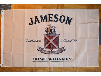 Jameson Irish Whiskey Flagga 90*150cm (Sprit/Alkohol Lätt Ro