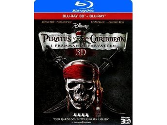 Pirates of the Caribbean - I Främmande Farvatten (Blu-ray 3D + Blu-ray) NYSKICK