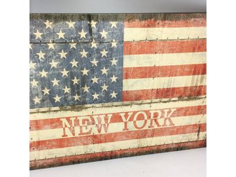 Canvas Tavla USA New York 50x70cm. Skick:Bra