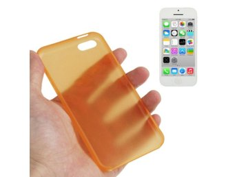 iPhone 5C Ultratunt Skal Orange