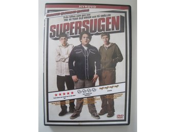 SUPERSUGEN - UNRATED EXTENDED 2-DISC EDITION DVD - EMMA STONE, JUDD APATOW, HILL