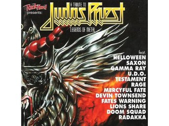 CD -Various ‎– A Tribute To Judas Priest Legends Of Metal