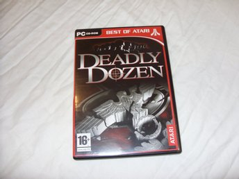 Deadly Dozen PC CD ROM first person shooter spel action krig tyskar