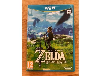 Zelda Breath of the Wild (BOTW) Wii U -- Fri Frakt! --
