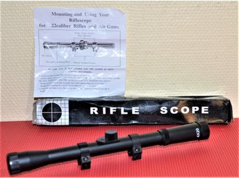 NYTT KIKARSIKTE - RIFLE SCOPE 4 x 20 mm.