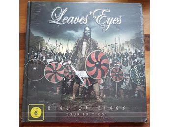 LEAVE´S EYE-Ny LTD 1000ex- King Of Kings-Tour Edition 2CD+DVD+60 sid 28X28cm Bok