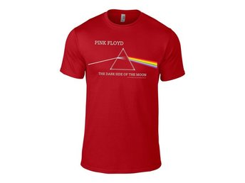Pink Floyd - Dark side of the moon Album Red t-shirt - Large