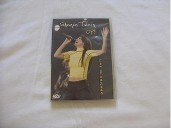 Shania Twain UP Live in Chicago DVD PAL