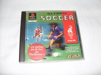 Olympic Soccer 1996 till Playstation 1 av US GOLD