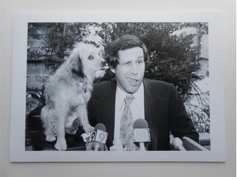 CHEVY CHASE - 'Oh Heavenly Dog', L.A. 1979 - Ut - *A4*-print NME!