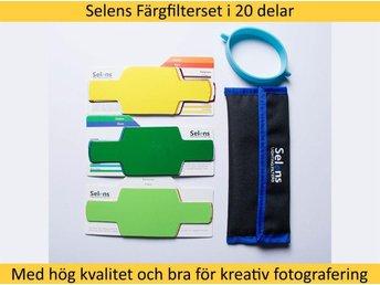Selens färgfilterset/color gel i 20 delar för hot shoe-blixtar - Gävle - Selens färgfilterset/color gel i 20 delar för hot shoe-blixtar - Gävle