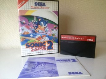 Sonic The Hedgehog 2 - SEGA Master System - PAL